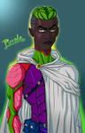 Piccolo Black Fan-Art by el-gamusa-art