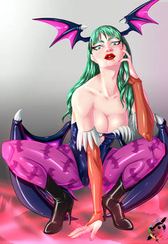 Morrigan Fan-Art