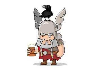 Odin by shamancake
