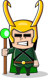 Loki by shamancake