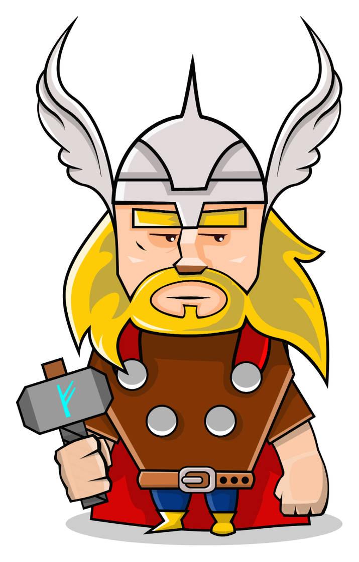 Thor by shamancake