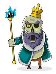 Undead King by shamancake