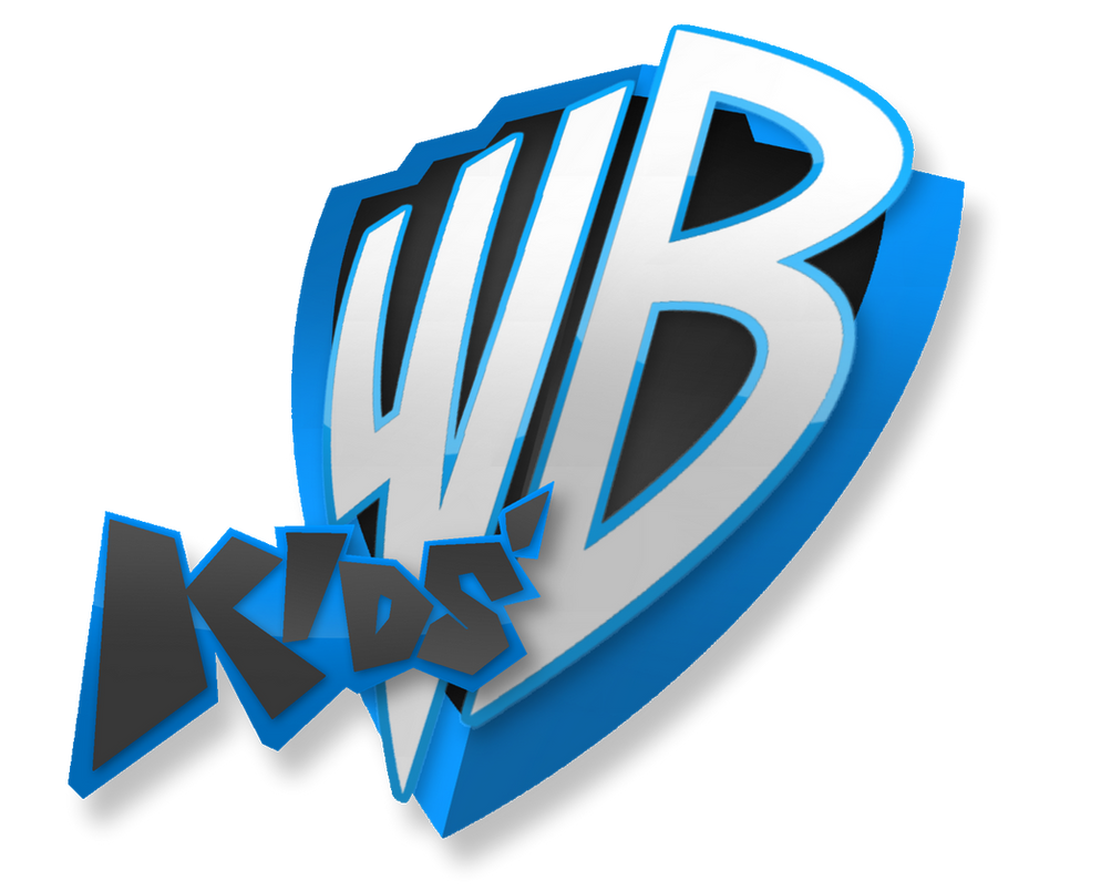 if kids wb came back new logo design v2 by megamario99