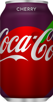 Cherry Coca-Cola - Red disc design
