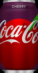 Cherry Coca-Cola - Red disc design by MegaMario99
