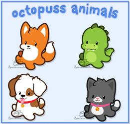 Octopuss Animals by bassanimation