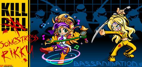 Kill Rikku by bassanimation