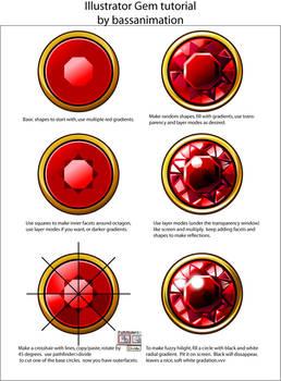 Illustrator gem tutorial