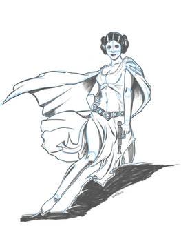 Leia sketch