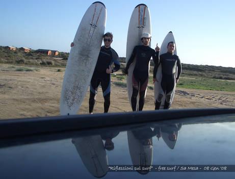 'Riflessioni sul surf'