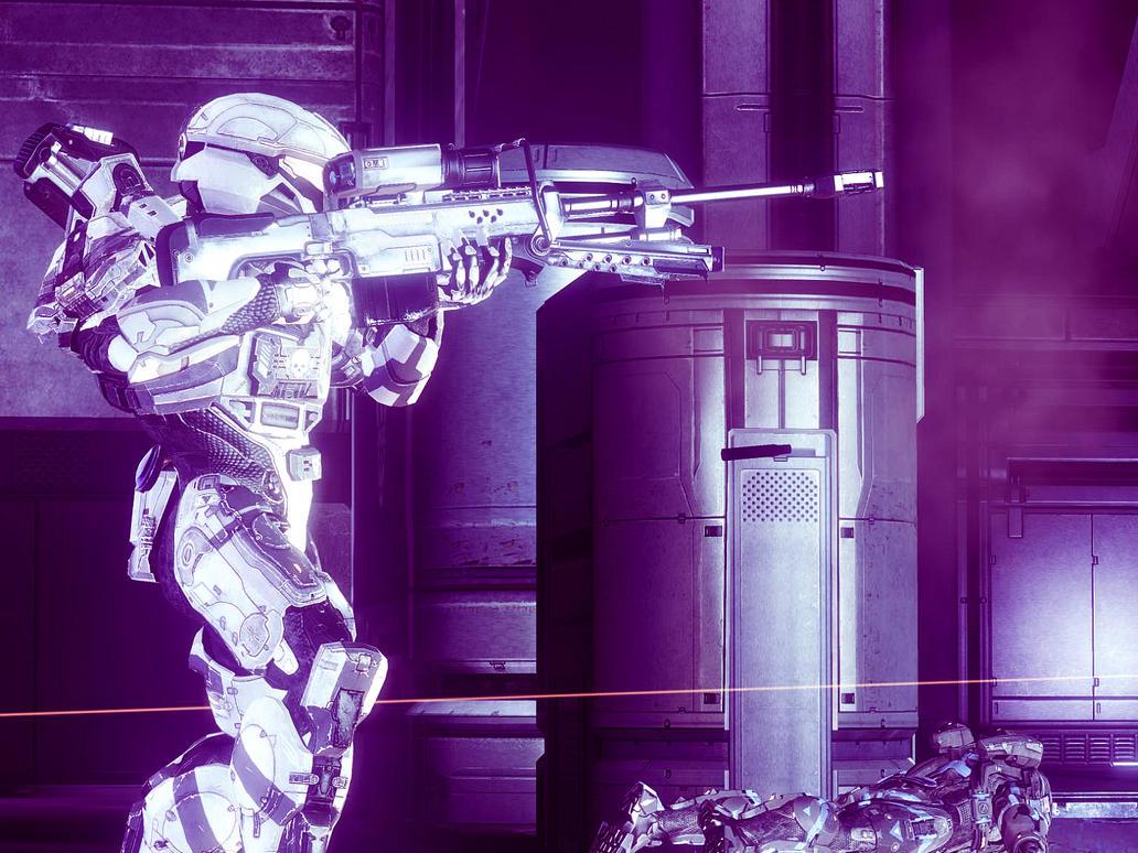 Halo 4: Haze of Demise by PurplePhantom104