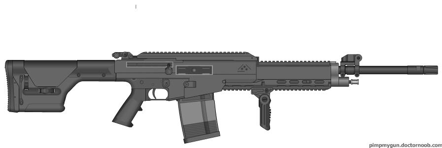 Pimp My Gun: R-32A UCR by PurplePhantom104