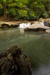 Swallow Falls Swirls by LAlight