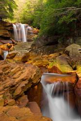 Douglas Falls Downstream by LAlight