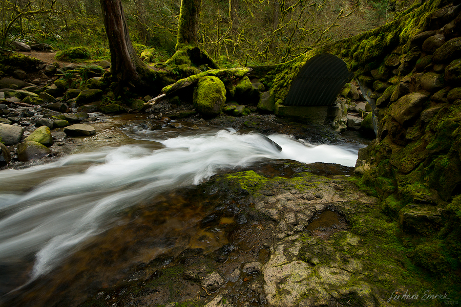Multnomah Creek by LAlight
