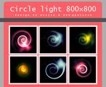 Circle light texture 800x800