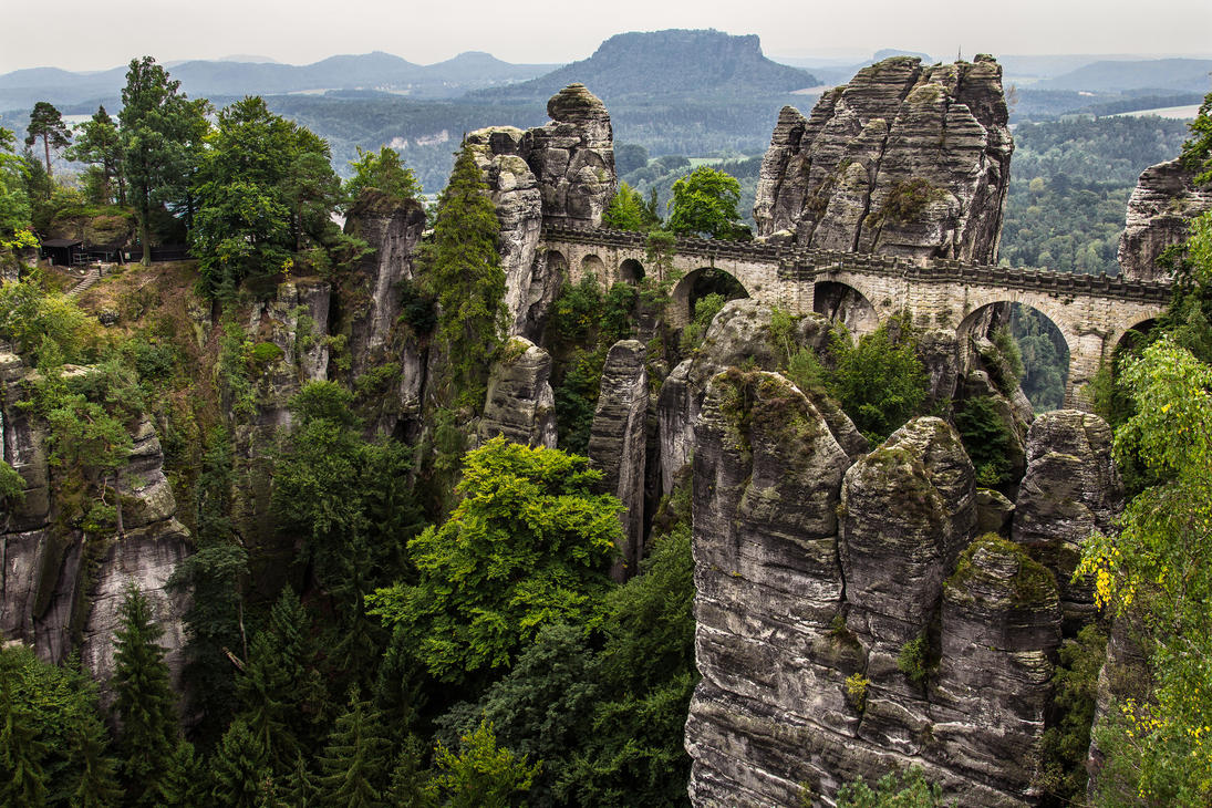 Saxon Switzerland by OrangeRoom on DeviantArt