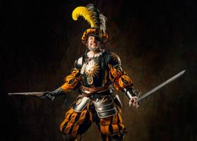 Warhammer FB -  Empire Lieutenant Klaus Vogel by OrangeRoom
