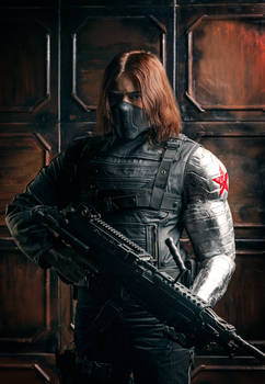 The Winter Soldier Cosplay by OrangeRoom