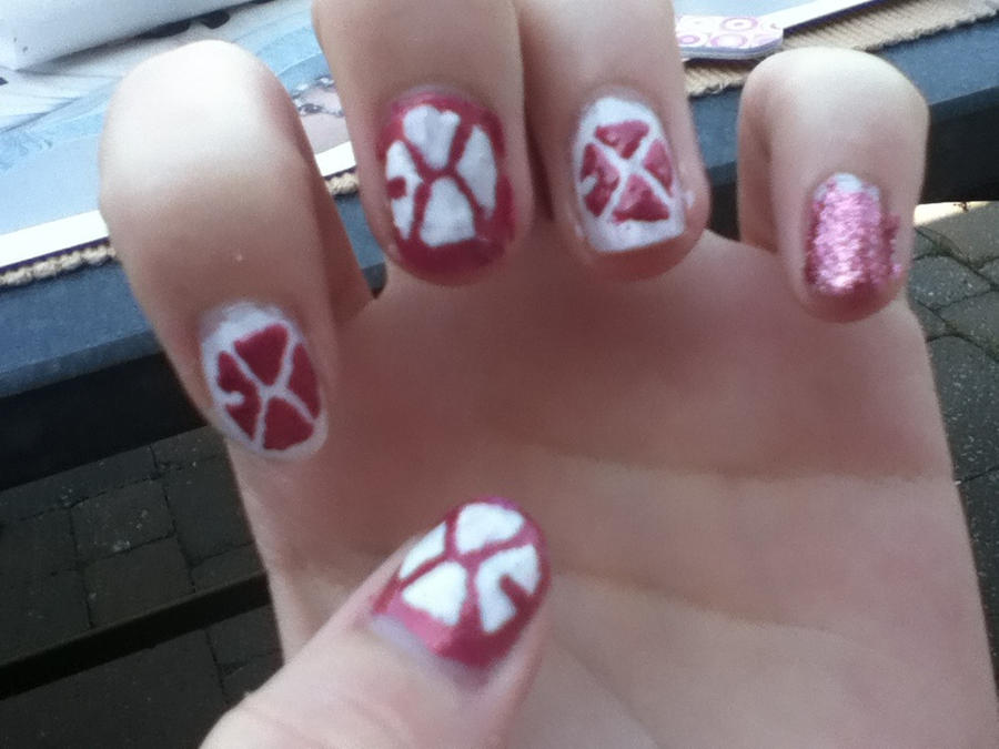 My Sexy EXO nails by LeeDymphy on DeviantArt