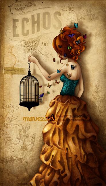 La belle aux papillons by Movezerb
