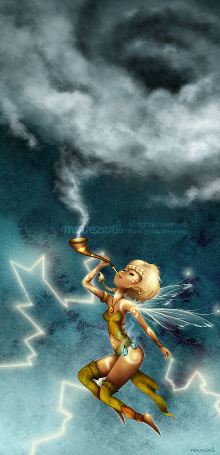 The storm summoner by Movezerb