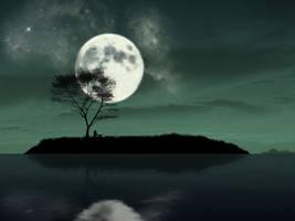 Cool Night by kandiart