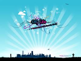 City Life 2 by kandiart
