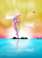 Summer Dream Island by kandiart