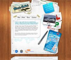Driving Website Template Final by kandiart
