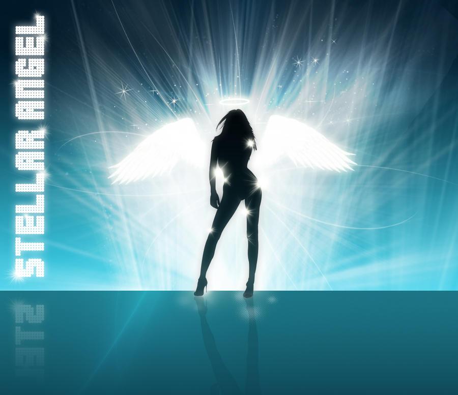 Stellar Angel by kandiart