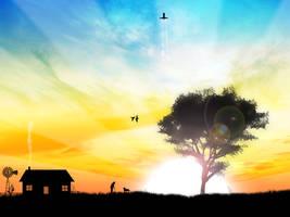 The Sunrise by kandiart