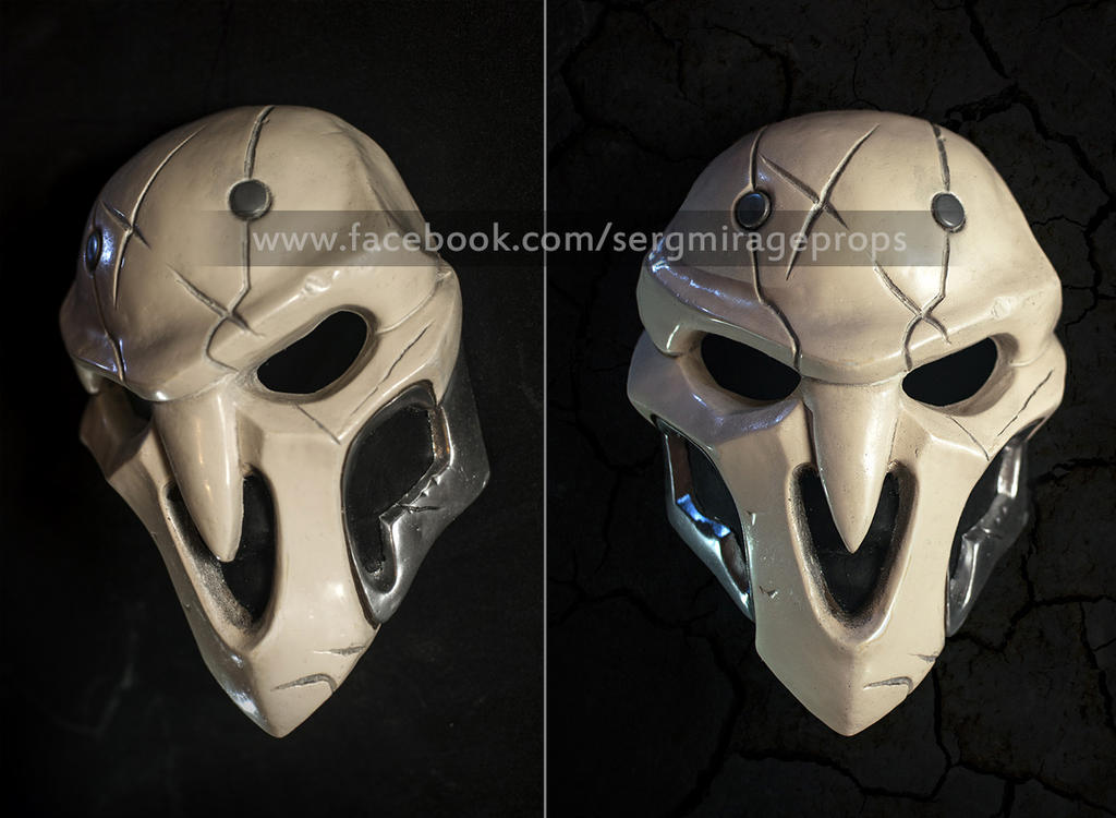 3D printed Reaper Mask from OverWatch! - Imgur