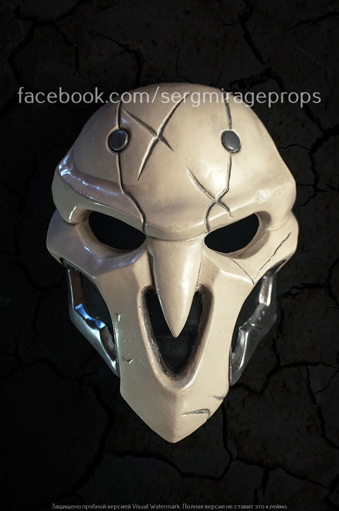 OVERWATCH Soldier 76 Mask by Celtic Props - YouTube