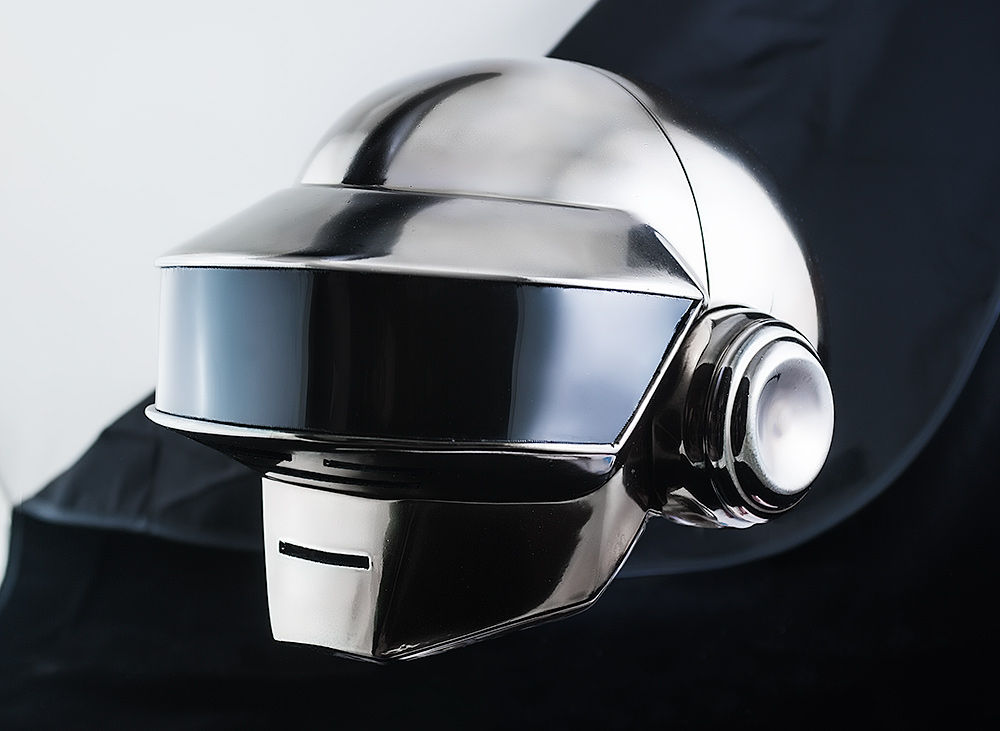 Daft Punk helmet Thomas Chrome by TheIdeaFix