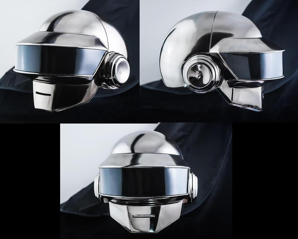 Daft Punk helmet by TheIdeaFix