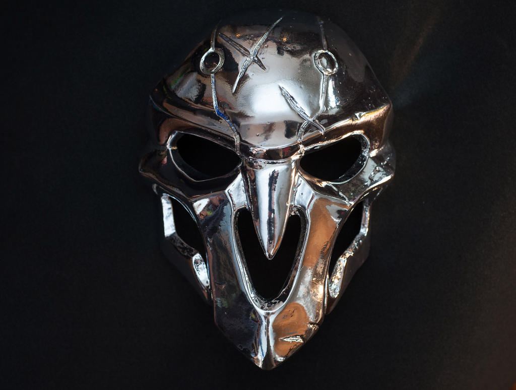 Overwatch Soldier 76 Halloween Christmas Party Mask Cosplay