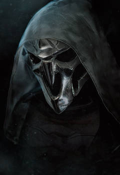 Overwatch Reaper cosplay Epic Skin