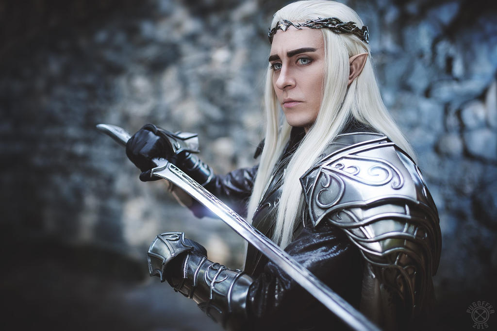 Thranduil face by TheIdeaFix
