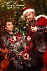 Loki Thor christmas