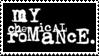 My Chemical Romance Logo 1 Variation 2 Stamp by Mangastarr