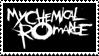 My Chemical Romance Logo 2 Stamp by Mangastarr