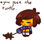 Free static Frisk pagedoll by TsudereSploonie