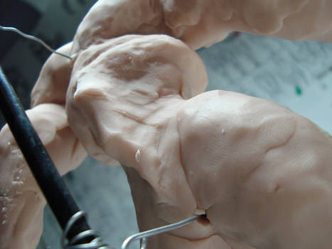 00558 WIP - Clay figure