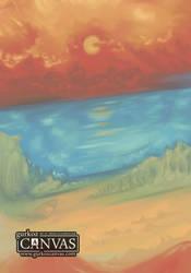 Crimson Sunset (00054) by gurkoz