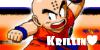Krillin Button by Gosha-Chan