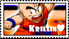 Krillin Love Stamp by Gosha-Chan