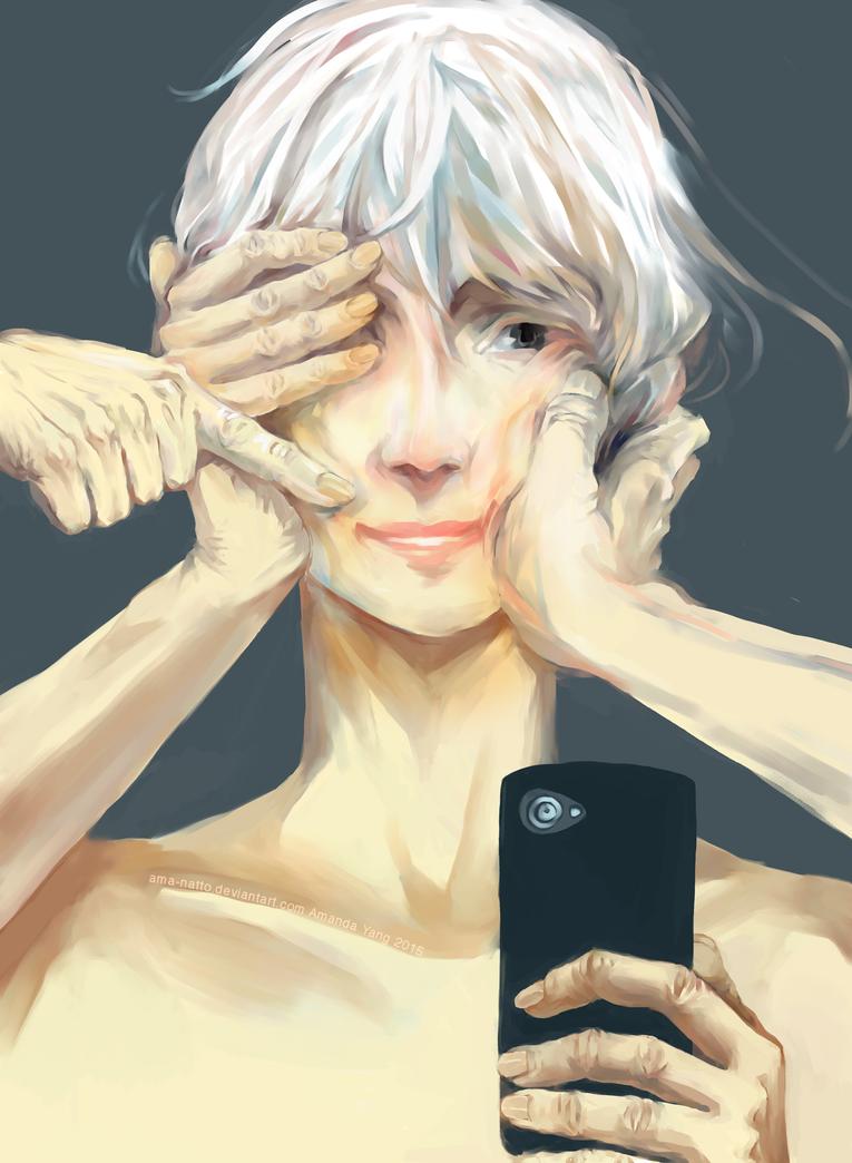 Fake Smile by Ama-Natto