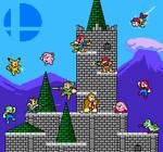 NES Smash Bros (Megaman Styled) SSB64 full cast