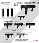 Momentum Defence MMP-19 SMG